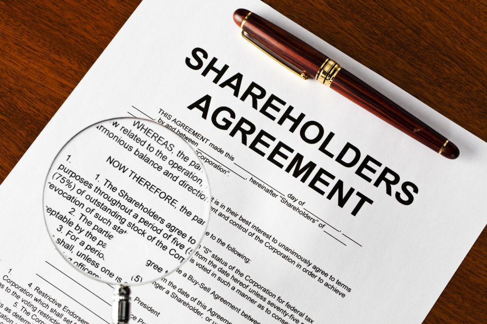 Shareholder Agreement Template Download Word Pdf Free